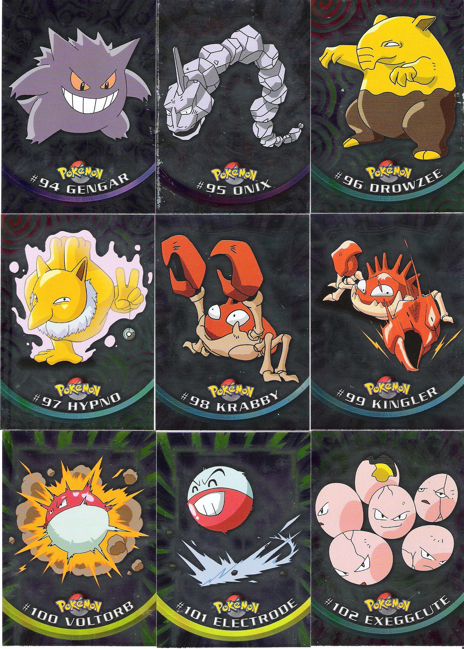 POKEMON TOPPS SERIES 2 SET OF 72 CARDS